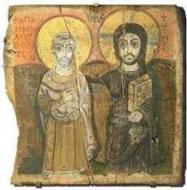 La Advocación a un Santo Cristiano Egipcio