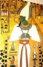 Los Egipcios no Pintaban con Cualquier Color