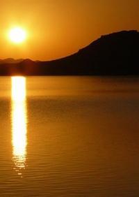 Cruzando el Lago Nasser.